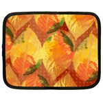 Fall Colors Leaves Pattern Netbook Case (XXL)  Front