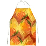 Fall Colors Leaves Pattern Full Print Aprons Front