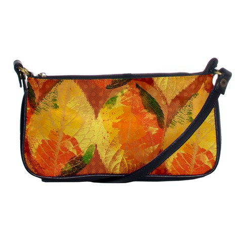 Fall Colors Leaves Pattern Shoulder Clutch Bags
