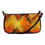 Fall Colors Leaves Pattern Shoulder Clutch Bags Front