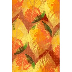 Fall Colors Leaves Pattern 5 5  X 8 5  Notebooks