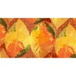 Fall Colors Leaves Pattern Magic Photo Cubes Long Side 1