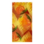 Fall Colors Leaves Pattern Shower Curtain 36  x 72  (Stall)  33.26 x66.24 Curtain