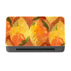 Fall Colors Leaves Pattern Memory Card Reader with CF