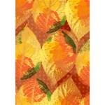 Fall Colors Leaves Pattern BOY 3D Greeting Card (7x5) Inside
