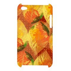 Fall Colors Leaves Pattern Apple iPod Touch 4