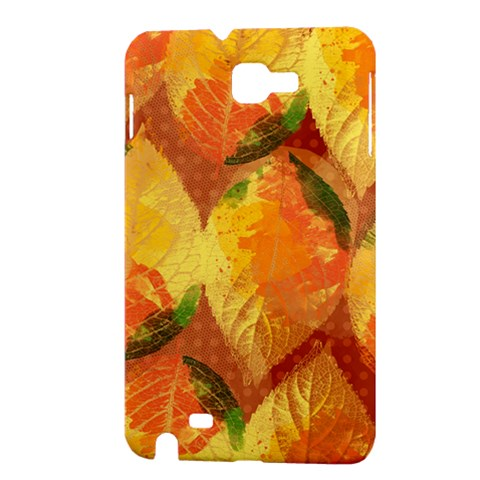 Fall Colors Leaves Pattern Samsung Galaxy Note 1 Hardshell Case