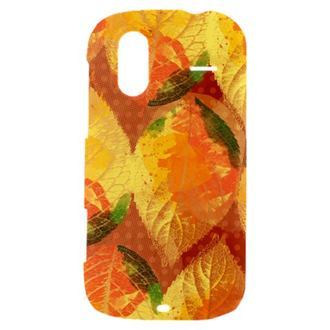 Fall Colors Leaves Pattern HTC Amaze 4G Hardshell Case