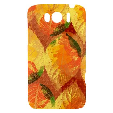 Fall Colors Leaves Pattern HTC Sensation XL Hardshell Case