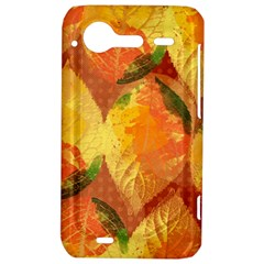 Fall Colors Leaves Pattern HTC Incredible S Hardshell Case