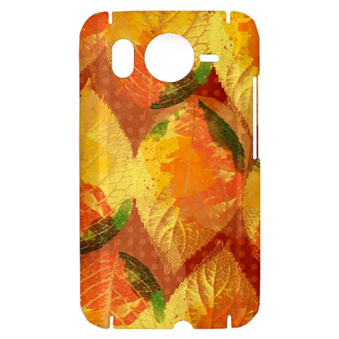 Fall Colors Leaves Pattern HTC Desire HD Hardshell Case