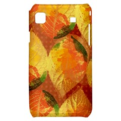 Fall Colors Leaves Pattern Samsung Galaxy S i9000 Hardshell Case