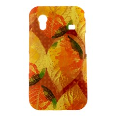 Fall Colors Leaves Pattern Samsung Galaxy Ace S5830 Hardshell Case