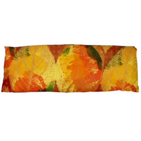 Fall Colors Leaves Pattern Body Pillow Case Dakimakura (Two Sides)