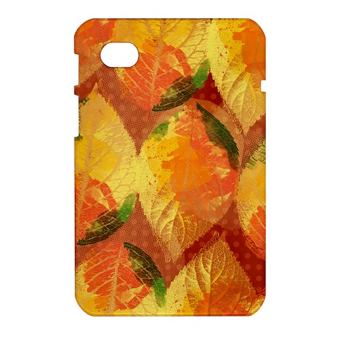 Fall Colors Leaves Pattern Samsung Galaxy Tab 7  P1000 Hardshell Case