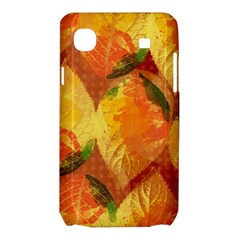 Fall Colors Leaves Pattern Samsung Galaxy SL i9003 Hardshell Case