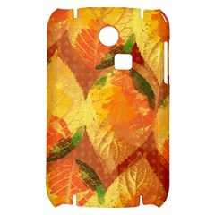 Fall Colors Leaves Pattern Samsung S3350 Hardshell Case