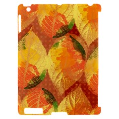 Fall Colors Leaves Pattern Apple iPad 2 Hardshell Case (Compatible with Smart Cover)