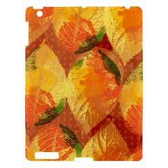 Fall Colors Leaves Pattern Apple iPad 3/4 Hardshell Case