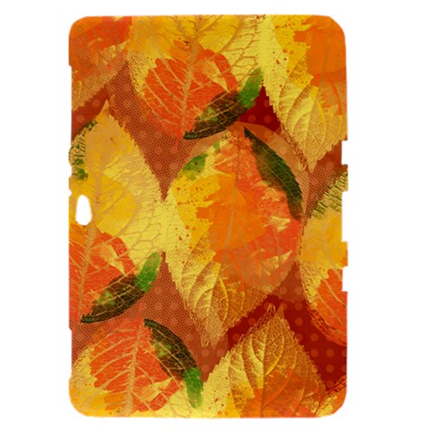 Fall Colors Leaves Pattern Samsung Galaxy Tab 8.9  P7300 Hardshell Case