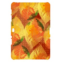 Fall Colors Leaves Pattern Samsung Galaxy Tab 10.1  P7500 Hardshell Case