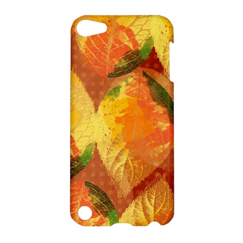Fall Colors Leaves Pattern Apple iPod Touch 5 Hardshell Case
