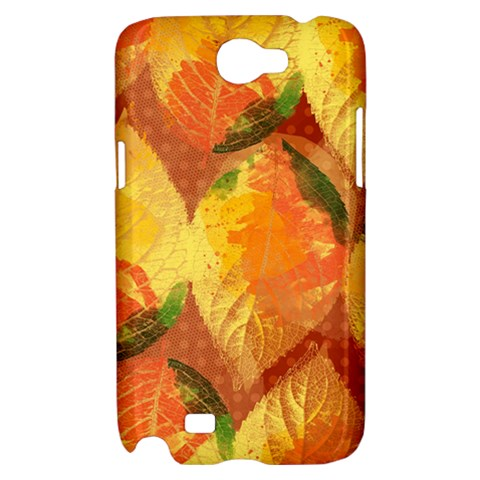 Fall Colors Leaves Pattern Samsung Galaxy Note 2 Hardshell Case