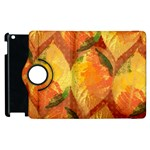Fall Colors Leaves Pattern Apple iPad 3/4 Flip 360 Case Front