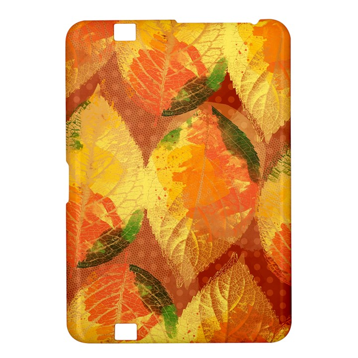 Fall Colors Leaves Pattern Kindle Fire HD 8.9