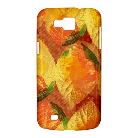Fall Colors Leaves Pattern Samsung Galaxy Premier I9260 Hardshell Case