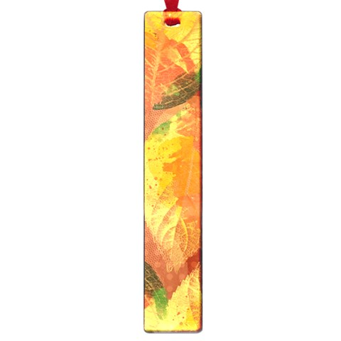 Fall Colors Leaves Pattern Large Book Marks