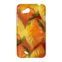 Fall Colors Leaves Pattern HTC Desire VC (T328D) Hardshell Case