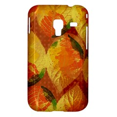 Fall Colors Leaves Pattern Samsung Galaxy Ace Plus S7500 Hardshell Case