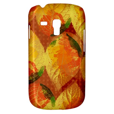 Fall Colors Leaves Pattern Samsung Galaxy S3 MINI I8190 Hardshell Case