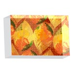 Fall Colors Leaves Pattern 4 x 6  Acrylic Photo Blocks Front
