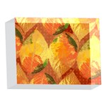 Fall Colors Leaves Pattern 5 x 7  Acrylic Photo Blocks Front