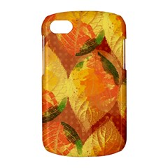 Fall Colors Leaves Pattern BlackBerry Q10