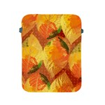 Fall Colors Leaves Pattern Apple iPad 2/3/4 Protective Soft Cases Front