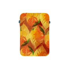 Fall Colors Leaves Pattern Apple Ipad Mini Protective Soft Cases
