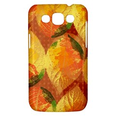 Fall Colors Leaves Pattern Samsung Galaxy Win I8550 Hardshell Case
