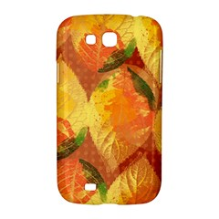 Fall Colors Leaves Pattern Samsung Galaxy Grand GT-I9128 Hardshell Case