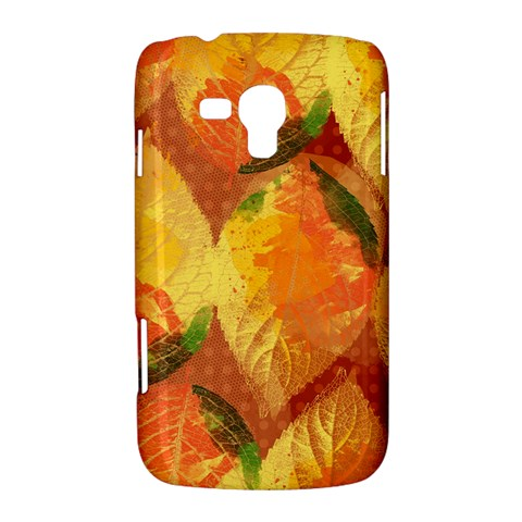 Fall Colors Leaves Pattern Samsung Galaxy Duos I8262 Hardshell Case
