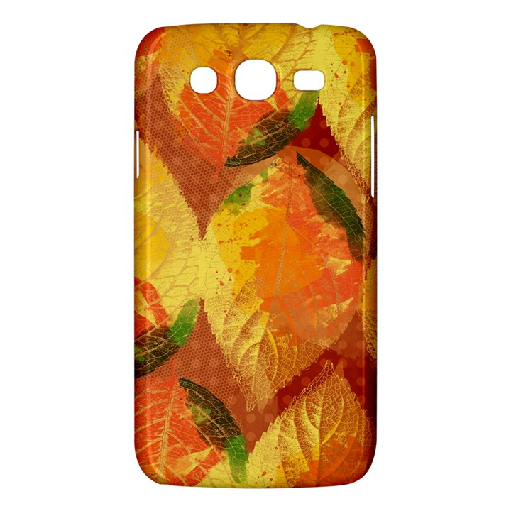 Fall Colors Leaves Pattern Samsung Galaxy Mega 5.8 I9152 Hardshell Case