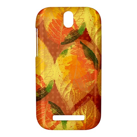 Fall Colors Leaves Pattern HTC One SV Hardshell Case