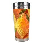 Fall Colors Leaves Pattern Stainless Steel Travel Tumblers Center