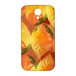 Fall Colors Leaves Pattern Samsung Galaxy S4 I9500/I9505  Hardshell Back Case Front