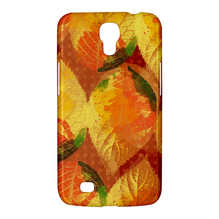Fall Colors Leaves Pattern Samsung Galaxy Mega 6.3  I9200 Hardshell Case