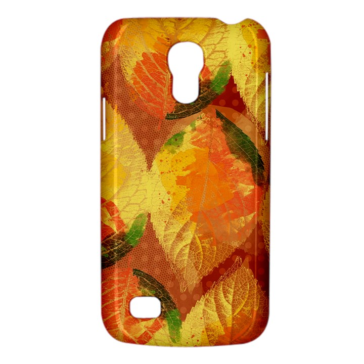Fall Colors Leaves Pattern Galaxy S4 Mini