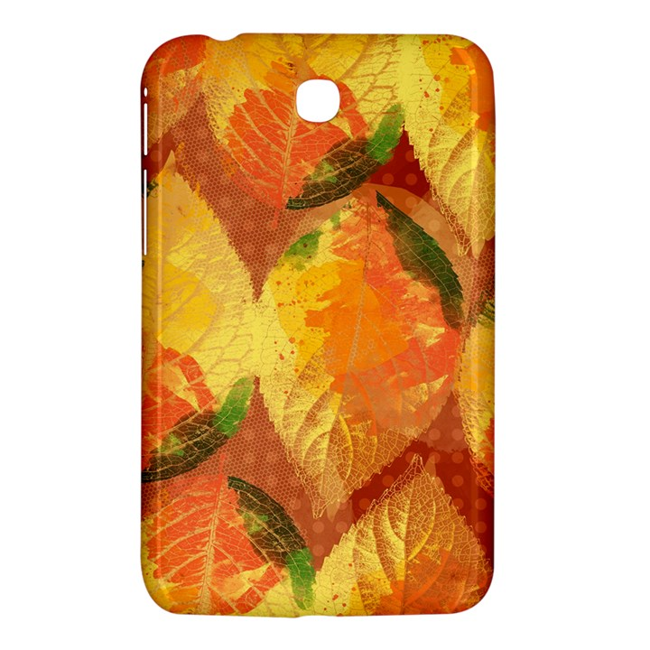 Fall Colors Leaves Pattern Samsung Galaxy Tab 3 (7 ) P3200 Hardshell Case