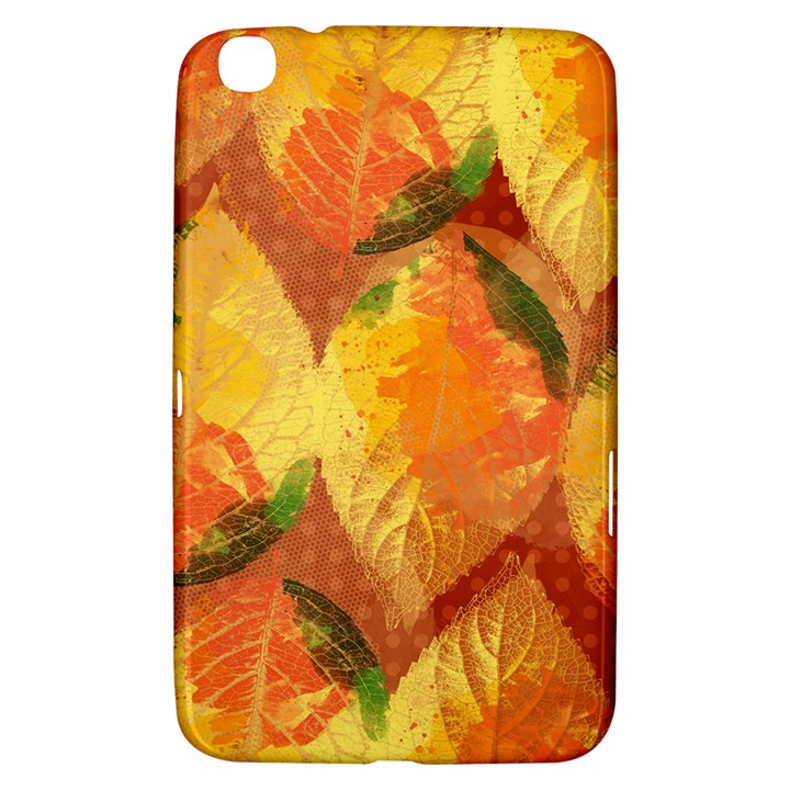 Fall Colors Leaves Pattern Samsung Galaxy Tab 3 (8 ) T3100 Hardshell Case